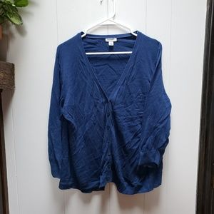 Old Navy 3/4 Sleeve Button Front Cardigan
